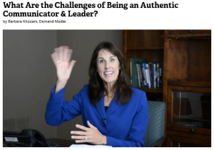 Authentic or Effective — what you need to know to be a better leader